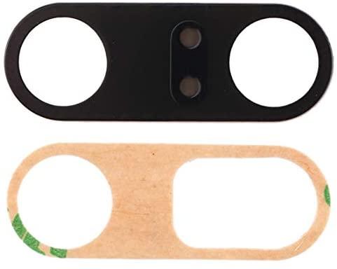 1 verre de rechange pour lentille d'objectif arrière appareil photo arrière + adhésif double face compatible pour Xiaomi Mi9T / MI 9T Pro / K20 / K20 Pro