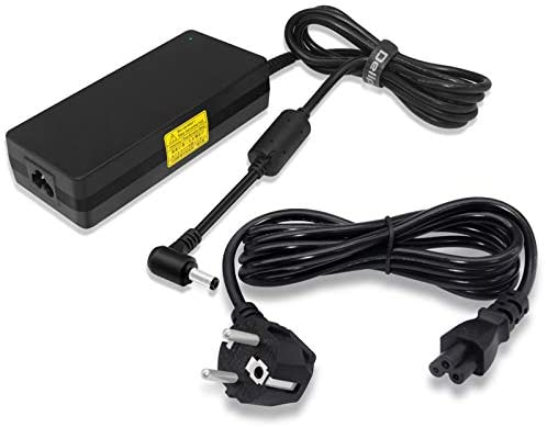 Delippo ADP-120MH D 19.5V 6.15A 120W Slim Notebook Adaptateur Chargeur for MSI Gateway Series Laptop Gateway S-7310M, Gateway S-7320, MSI GS70 GL62 ADP-120MH D A12-120P1A IdeaPad Y410p Y510p Series