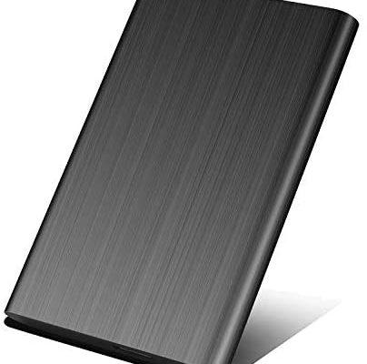 Disque Dur Externe 2to,Disque Dur Externe USB3.0 pour PC, Xbox One, Desktop, Laptop, Chromebook(2To,Noir)
