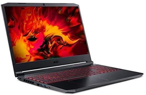 Acer AN517-52-71Y9 i7-10750H 17.3 pcs Ordinateur Portable 8 Go DDR4 512 Go SSD NVIDIA GeForce GTX 1650Ti 4 Go DDR6 - Max P Win 10 Black
