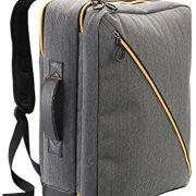 Cabin Max® Oxford Zaino da Cabina – Bagaglio a Mano Con Tasca Porta Laptop sullo Schienale – Rivestimento UV – 50 x 40 x 20 cm – 40 L (Gris)