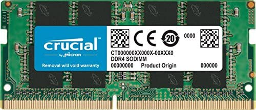 Crucial RAM CT8G4SFS824A 8Go DDR4 2400 MHz CL17 Mémoire d'ordinateur Portable