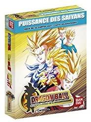 Jeux de Cartes 12 en 1 'Dragon Ball' - Starter Super Série Puissance des Saiyans