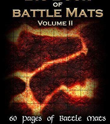 Loke Livre Plateau de Jeu : Big Book of Battle Mats VOL. 2 (Taille A4) 333092
