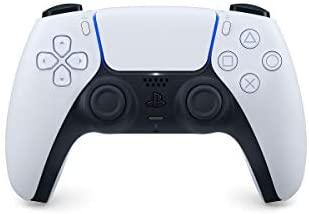 Manette PlayStation 5 officielle DualSense, Sans fil, Batterie rechargeable, Bluetooth, Couleur : Bicolore