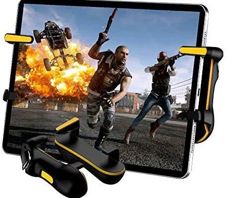 PUBG mobile Contrôleur pour tablette Tap haute fréquence automatique, contrôleurs de jeu mobiles conçus pour les jeux de tir Cod Mobile / PUBG et joysticks de jeu pour iPad /tablette Android