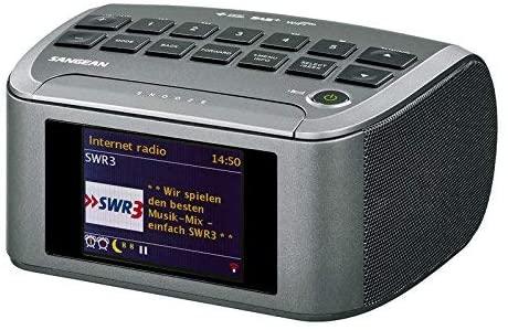 Sangean RCR-11 WF Digital Clock Radio (radio Internet, DAB +, Spotify lecteur, FM RDS, USB) noir