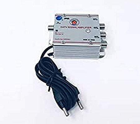TEMPO DI SALDI Amplificateur numérique Terre pour antenne TV analogique ou numérique à 3 Sorties