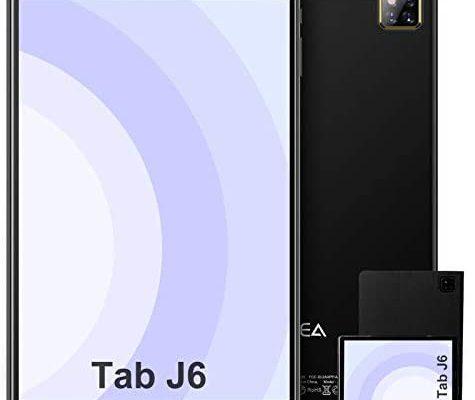 Tablette 10 Pouces Android 10.0 - RAM 4GB | 64 Go de ROM - WiFi - Octa Core (certifié Google GMS) - Tablette JUSYEA - Batterie 6000mAh - Couvercle - Noir