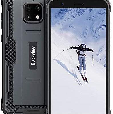 """Téléphone Portable Incassable, Blackview BV4900 Pro Android 10 Smartphone Débloqué Etanche IP68 4G, 4Go+64Go(SD 128Go), Batterie 5580mAh, Écran 5,7"""" FHD+, 13MP+5MP, Double SIM, NFC/Face ID/GPS/OTG"""
