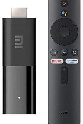 Xiaomi - TVs001 Fire - Lecteur de Contenu multimédia en Streaming - TV Stick, 1Go de RAM, 8Go de ROM, Smart 2K, HDR, Bluetooth 4.2, WiFi, Mini TV Dongle