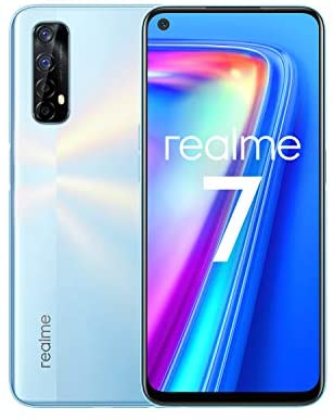 realme 7 Blanc Smartphone Débloqué 4G+ - (Ecran : 6,5 Pouces – 8 Go RAM – 128 Go ROM - Double Nano SIM - Android) [Version Française]