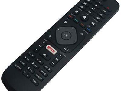 ALLIMITY 3986GR08-10 Télécommande remplace pour Philips 4K UHD TV 32PHH4509 40PFK5509 42PFT6509 43PUS6523 48PFK6409 50PFS5803 50PUS6809 55PUS6272 65PUS6121 49PFS5301 65PUS6703