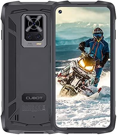 """CUBOT Kingkong 7 Téléphone Incassable, 64MP Caméra Smartphone Mémoire 8 GB + 128 GB, Téléphone Android 11 Étanche IP68,Batterie 5000 mAh Écran 6,36"""" Débloqué Téléphone,4G Double SIM Nano"""