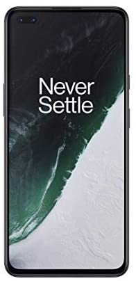"""OnePlus Nord - Smartphone Débloqué 5G (Écran 6,44"""" Fluid AMOLED 90 Hz - 12GB RAM - 256GB Stockage - Quad Caméra - Warp Charge 30T) - 2 Ans de Garantie Constructeur - Gris"""
