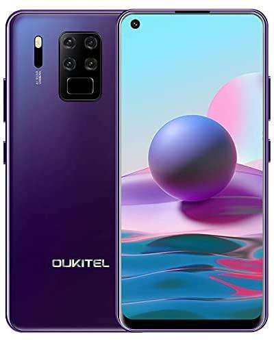 """Smartphone Débloqué 4G, OUKITEL C18 Pro, Octa-Core 4Go RAM+64Go ROM, 6,55"""" HD+, Caméra Arrière Quadruple16MP+8MP+5MP+2MP, Dual SIM 4G, Batterie 4000mAh Téléphone Portable, Face ID/Fingerprint, GPS"""