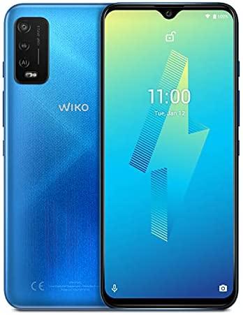 """Wiko Power U10 Smartphone débloqué 4G (Ecran 6.82"""" - 32 Go Stockage Extensible à 256 Go - 2 Go RAM - Batterie 5000 mAh) Denim Blue"""