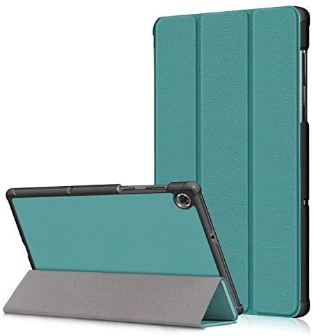 XINKO Étui à rabat fin en cuir PU de qualité supérieure pour Lenovo Tab M10 HD (2e génération) TB-X306X Vert